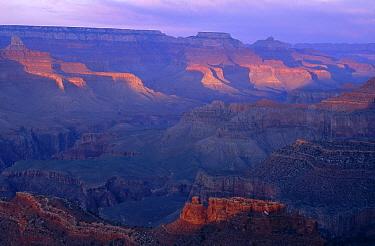 Sunset over Grand Canyon National Park, Arizona  -  Jim Brandenburg