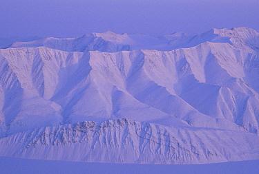 Snow covered mountains, Ellesmere Island, Nunavut, Canada  -  Jim Brandenburg