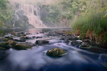 Creek and waterfall, Northwoods, Minnesota  -  Jim Brandenburg