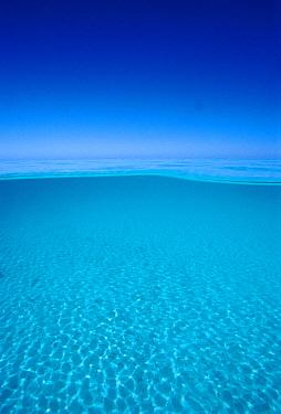 Lagoon of Rangiroa Atoll, French Polynesia  -  Norbert Wu