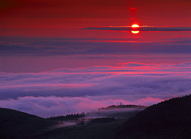Sunrise at Hurricane Ridge, Olympic National Park, Washington  -  Tim Fitzharris