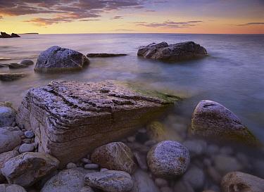 Coastal rocks, Bruce Peninsula National Park, Ontario, Canada