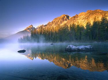 The Teton Range at String Lake, Grand Teton National Park, Wyoming  -  Tim Fitzharris