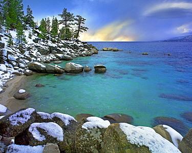 Hidden Beach and Memorial Point, Lake Tahoe, Nevada  -  Tim Fitzharris