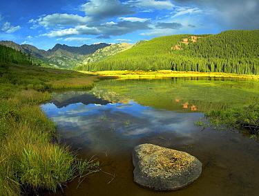 Mt Powell and Piney Lake, Colorado  -  Tim Fitzharris