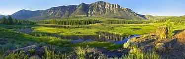 Panorama view of Windy Mountain, Wyoming  -  Tim Fitzharris