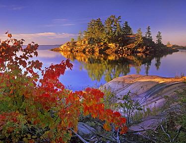 Island in Georgian Bay, Lake Huron, Killarney Provincial Park, Ontario, Canada  -  Tim Fitzharris