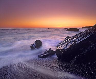 Sunset at San Simeon State Park Big Sur, California  -  Tim Fitzharris