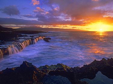 Sunset at Shark's Cove, Oahu, Hawaii  -  Tim Fitzharris