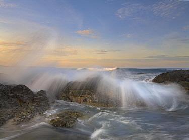 Wave breaking, Playa Langosta, Guanacaste, Costa Rica  -  Tim Fitzharris