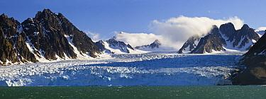 Monaco Glacier, Liefdefjorden, Spitsbergen, Norway  -  Konrad Wothe