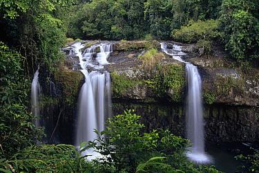 Tchupalla Falls in the upper section of Henrietta Creek, Palmerston National Park, Queensland, Australia  -  Gerry Ellis