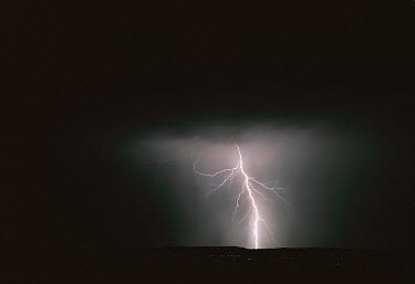 Monsoon rains and lightning, Green Valley, Arizona  -  Tom Vezo