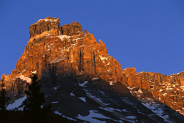 Cathedral Peak, Yoho National Park, British Columbia, Canada  -  Sumio Harada