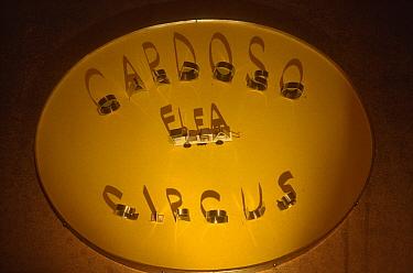 Logo of the Cardoso Flea Circus, San Francisco, California  -  Heidi & Hans-Juergen Koch