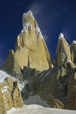East Face of Cerro Torre, Los Glaciares National Park, Patagonia, Argentina  -  Colin Monteath/ Hedgehog House