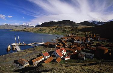 Abandoned whaling station, Grytviken, South Georgia Island  -  Flip de Nooyer
