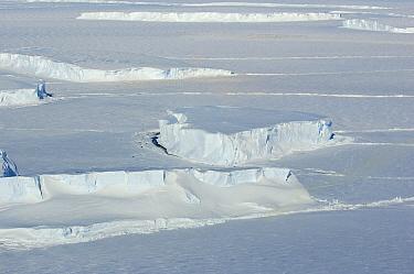 Icefield, Riiser-Larsen Ice Shelf, Antarctica  -  Jan Vermeer