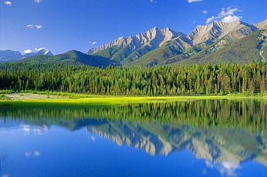 Dog Lake. Kootenay National Park, British Columbia, Canada  -  David Noton/ npl
