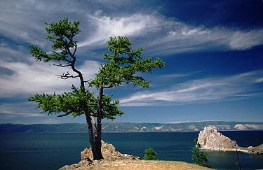 Cape Burchan, Lake Baikal, Russia  -  Doug Allan/ npl