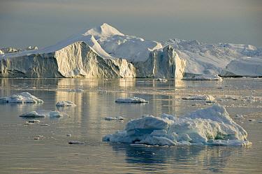 Icebergs, western Greenland  -  Kevin Schafer