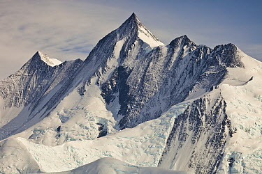 Mount Herschel above Cape Hallett, Admiralty Range, Antarctica  -  Colin Monteath/ Hedgehog House