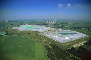 Slime dams at Kriel Power Station, South Africa  -  Richard Du Toit