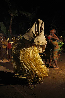 Baka ceremony is performed before a hunting excursion, Cameroon  -  Cyril Ruoso