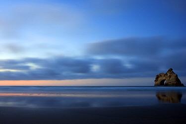 Wharariki Beach, Archway Islands, New Zealand  -  Stephen Belcher