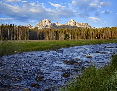 Sawtooth Range and Stanley Lake Creek, Idaho  -  Tim Fitzharris