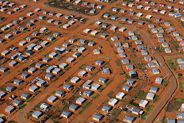 Low cost housing, Gauteng, South Africa  -  Richard Du Toit