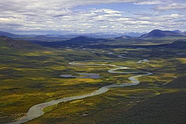 River channels, Brooks Range, Arctic National Wildlife Refuge, Alaska  -  Ingo Arndt