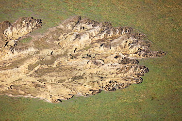 Rock formation showing erosion, KwaZulu-Natal, South Africa  -  Richard Du Toit