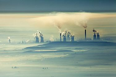 World's largest coal liquefaction plant, Secunda, South Africa  -  Richard Du Toit