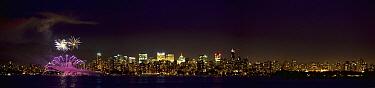 Fireworks over Vancouver, British Columbia, Canada  -  Matthias Breiter