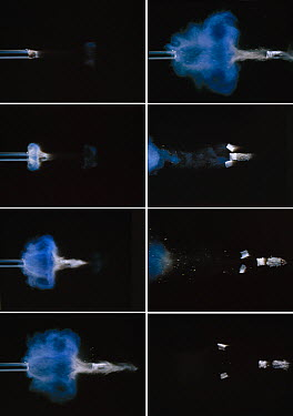 Shotgun discharge sequence  -  Stephen Dalton
