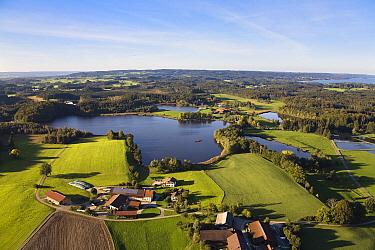 Farming communities around Lake Nussberger and Lake Starnberger, Upper Bavaria, Germany  -  Konrad Wothe