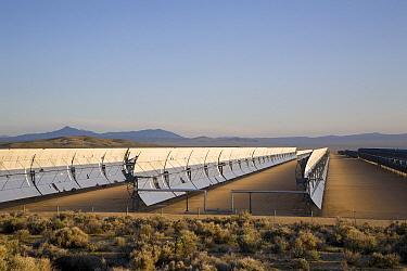Solar facility at Harper Dry Lake, Mojave Desert, California  -  Richard Herrmann