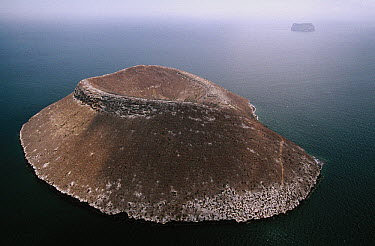 Crater, Daphne Island, Galapagos Islands, Ecuador  -  D. Parer & E. Parer-Cook