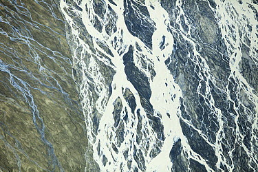 Slime dam at mining operation, Gauteng, South Africa  -  Richard Du Toit