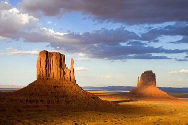 East and West Mittens, Monument Valley, Utah  -  Tom Vezo