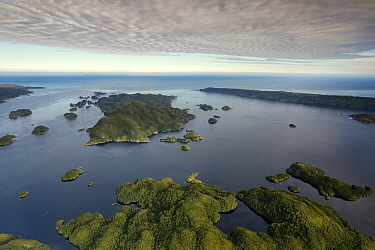 Anchor Island, Dusky Sound, Fjordland National Park, South Island, New Zealand  -  Stephen Belcher