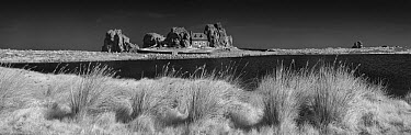 Rock house and grass, France  -  Jim Brandenburg