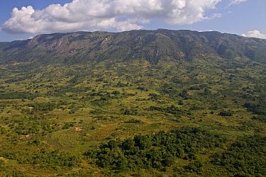 Savanna and forest mosaic, Gorongosa National Park, Mozambique  -  Piotr Naskrecki