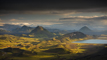 Lake Alftavatn, Laugavegur Trail, Iceland  -  Rob Brown/ Hedgehog House