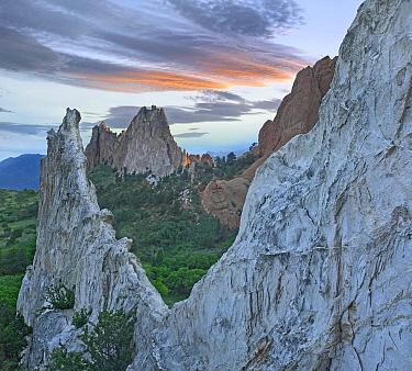 Gray Rock and White Rock, Garden of the Gods, Colorado  -  Tim Fitzharris