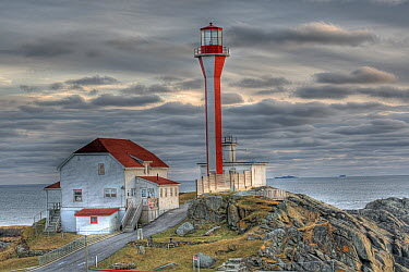 Cape Forchu Lightstation, Yarmouth, Nova Scotia, Gulf of Maine, Canada  -  Scott Leslie