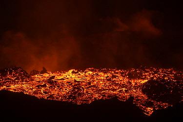 Lava flow, Tolbachik Volcano, Kamchatka, Russia  -  Sergey Gorshkov