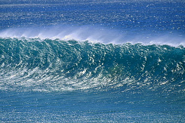Small wave about to break  -  Bob Barbour
