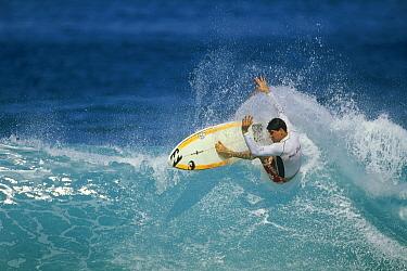 Kieran Horn, Pupukea Sandbar, Oahu, Hawaii  -  Bob Barbour